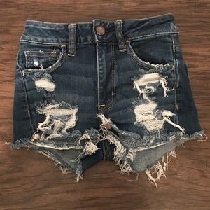 American Eagle outfitters Hi rise festival shortie